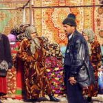 Barrie goes to the Oriental carpet bazaar in sear of someone who knows Barbar.