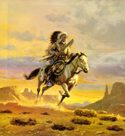 Kiowa Indian Chief