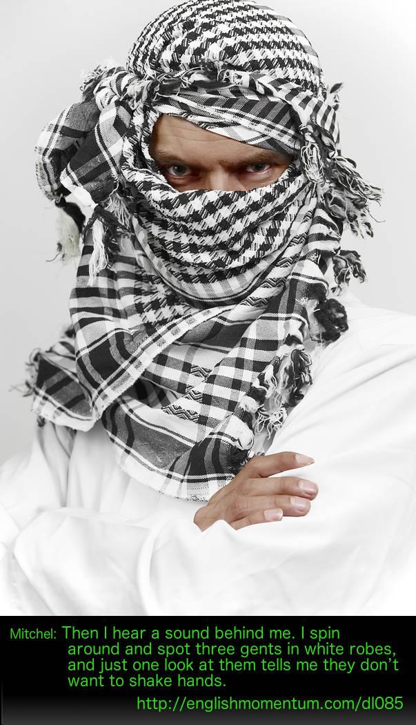 Arab thug