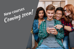 New Courses Coming Soon