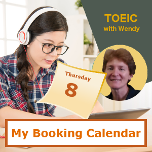 Book a TOEIC Prep class with Wendy