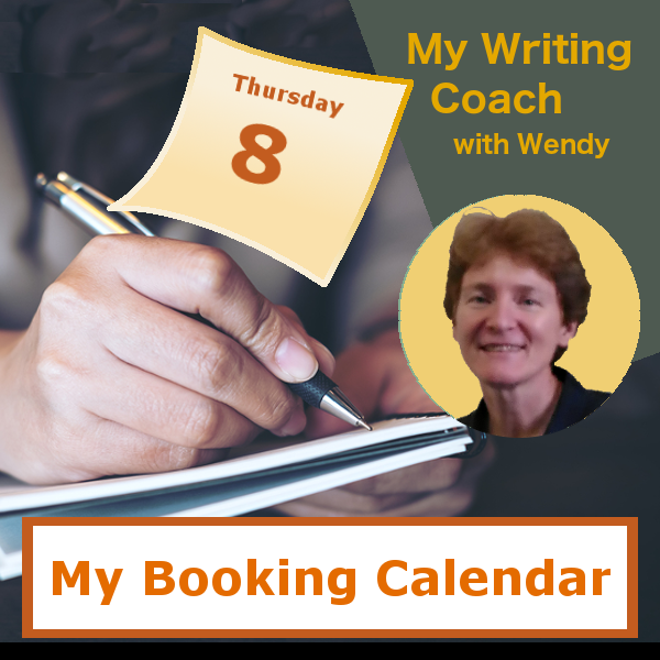 "Book a ""My Writing Coach"" lesson with Wendy"